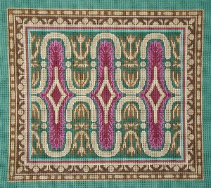 Baroque Geometric Needlepoint Canvas