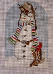 Texas Socks Snowman Standup