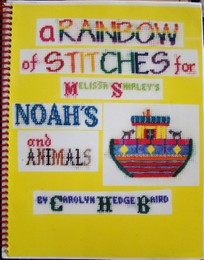 A Rainbow of Stitches For Melissa Shirley Noah's and Animals