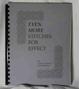 Even More Stitches For Effect Needlepoint Book