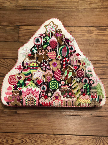 Gingerbread Tree Stitch Guide by Mary Ann Davis