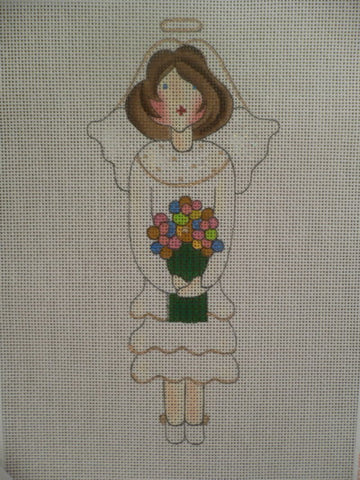 June Angel with stitch guide