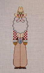 Long Tall Texas Santa Needlepoint Kit