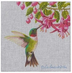 Male Ruby Throated Hummingbird-Liz Goodrick-Dillion-LGDSP407- Stitch Guide by Mary Ann Davis