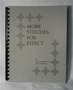 More Stitches For Effect Needlepoint Book