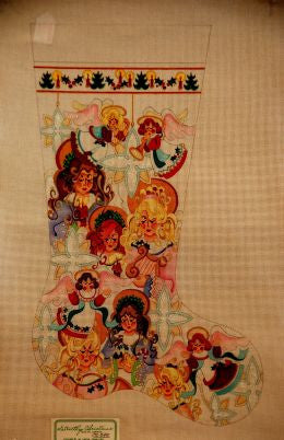 Multi Angels Stocking