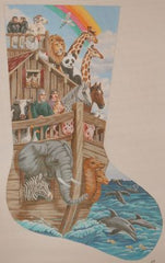 Noah's Ark Stocking