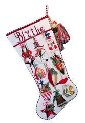 Ornament Stocking Stitch Guide by Mary Ann Davis