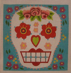 Rose Head Sugar Skull