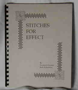 Stitches For Effect Needlepoint Book