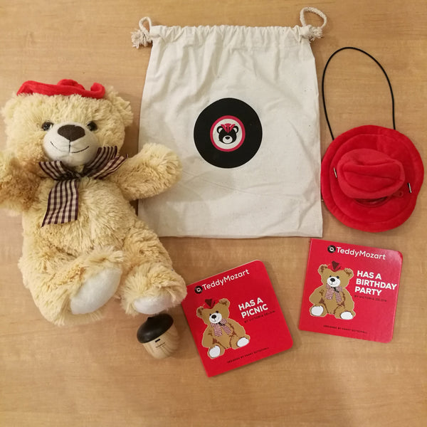 TeddyMozart Teddy Bear Bluetooth Plush Speaker Premium - Free Global Shipping