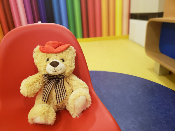 TeddyMozart Bluetooth Voice Recordable Bear with My Storytime App