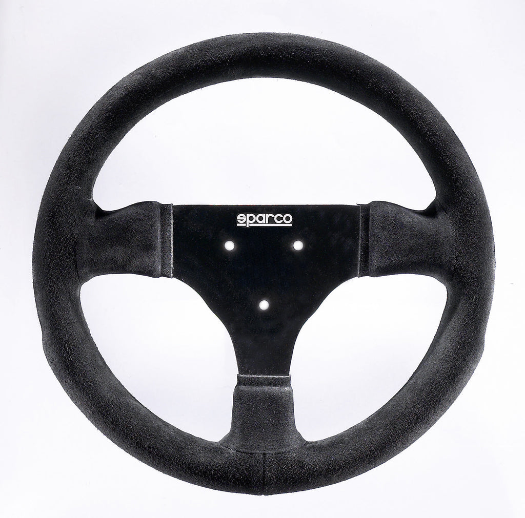 Sparco 285 Suede Black Steering Wheel