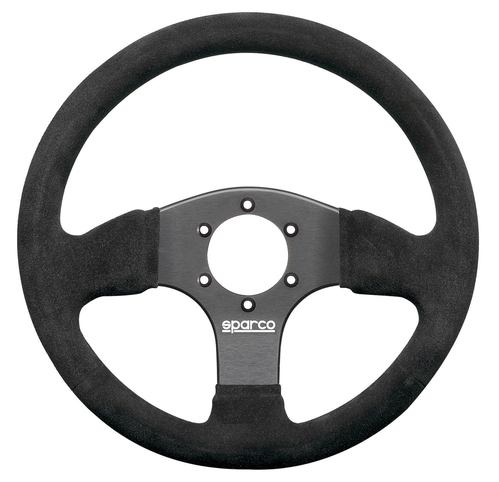 Sparco 300 Suede Black Steering Wheel
