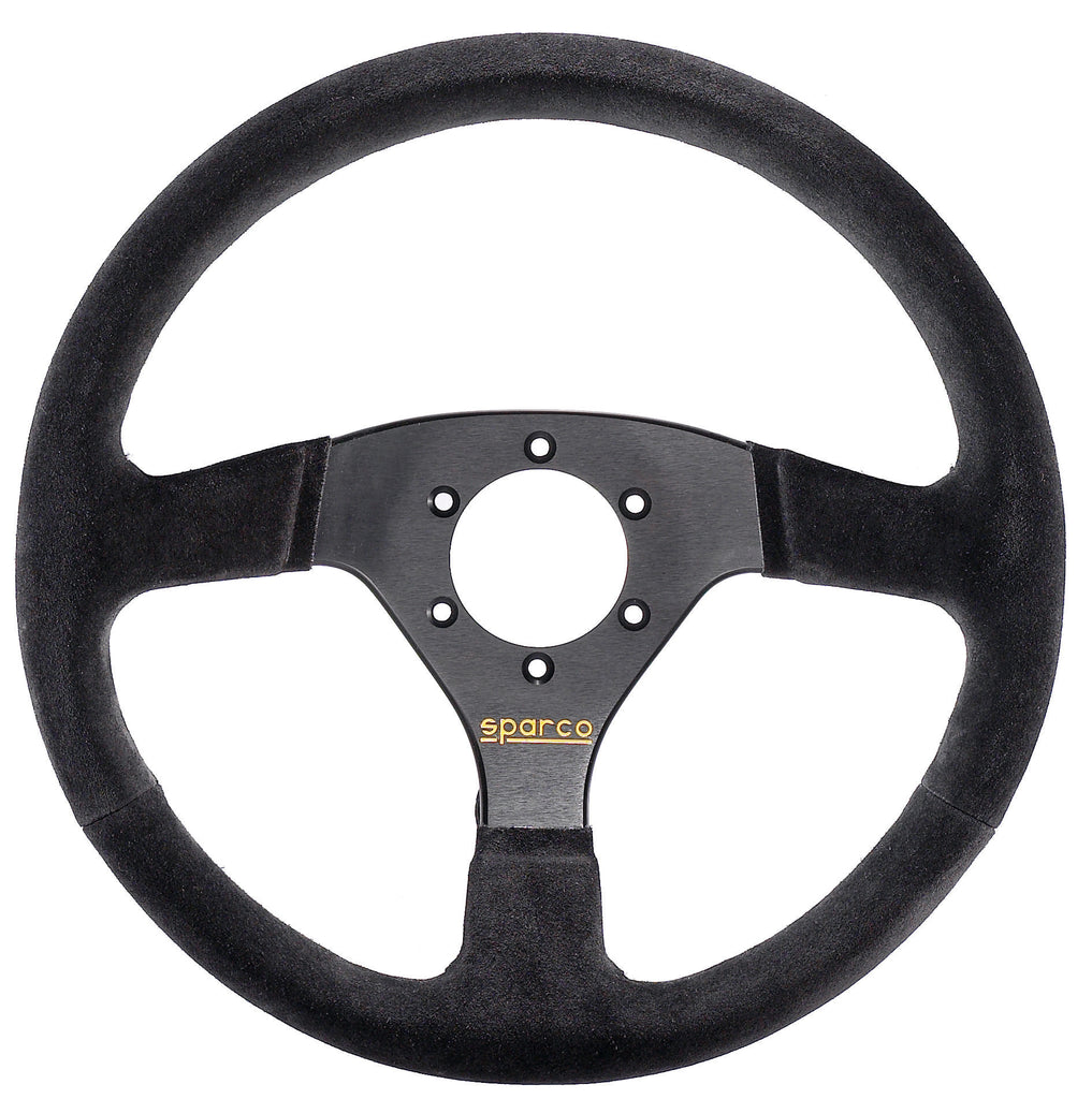 Sparco 323 Suede Black Steering Wheel