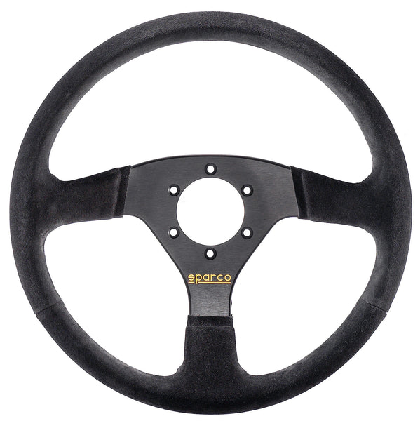 Sparco 333 Suede Black Steering Wheel