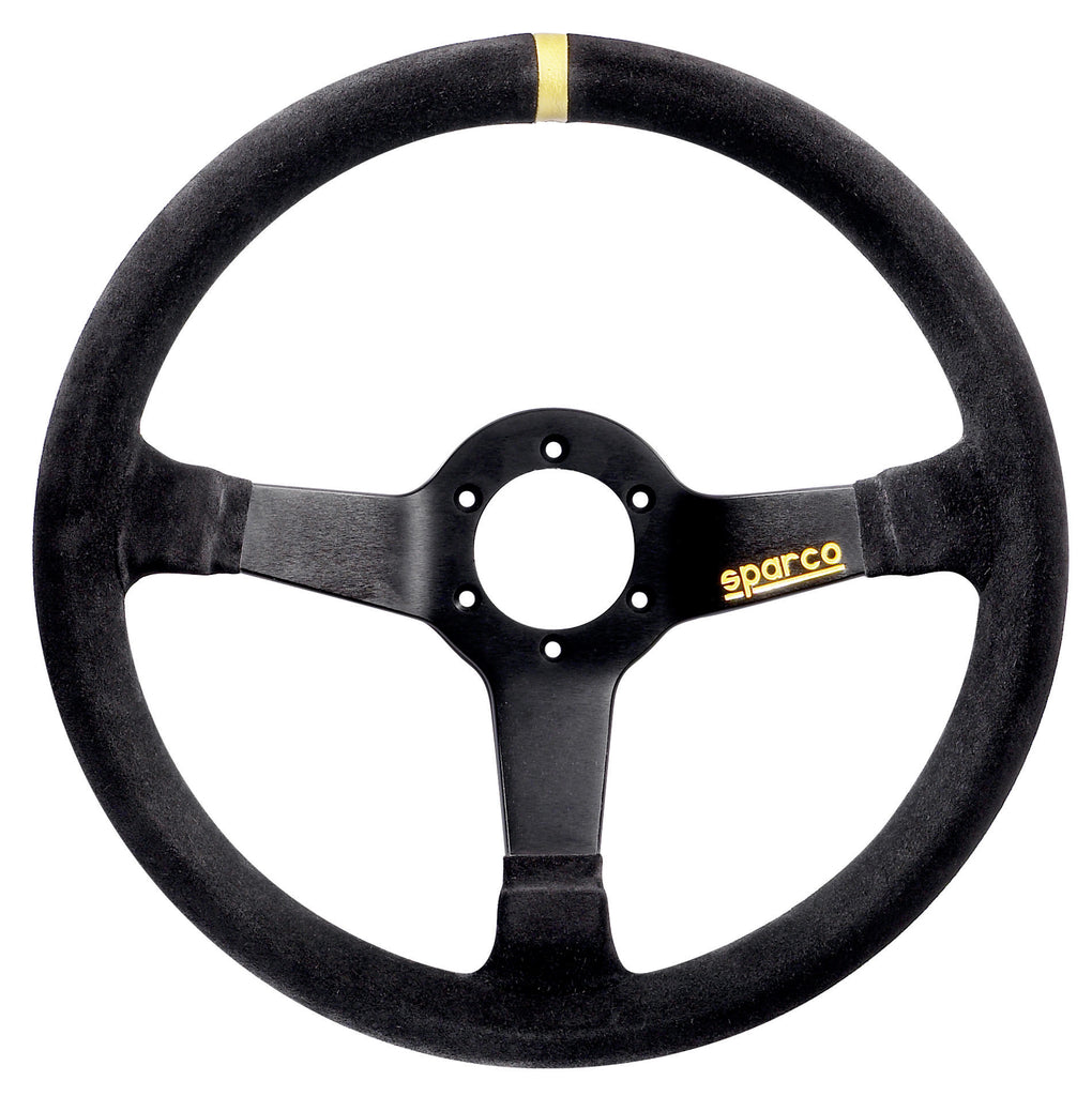 Sparco 345 Suede Black Steering Wheel