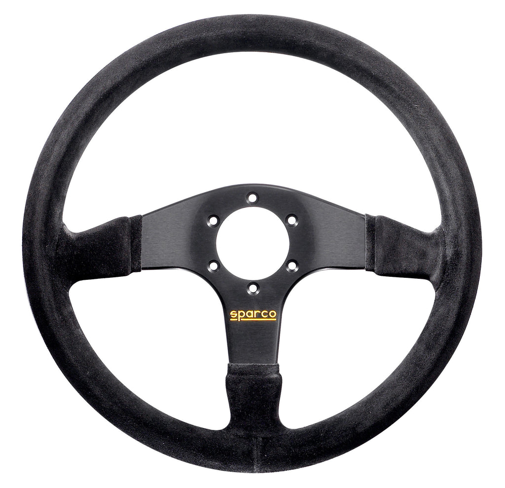 Sparco 375 Suede Black Steering Wheel
