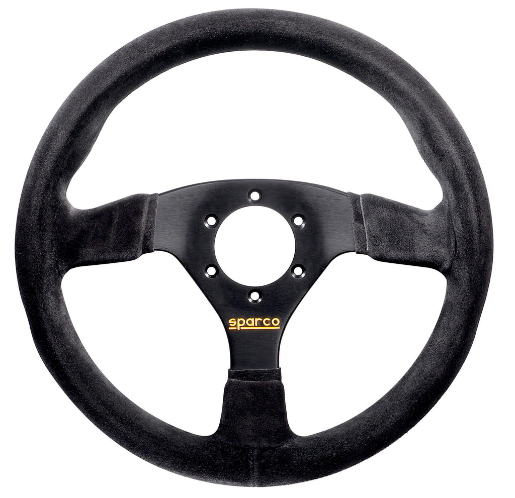 Sparco 383 Suede Black Steering Wheel