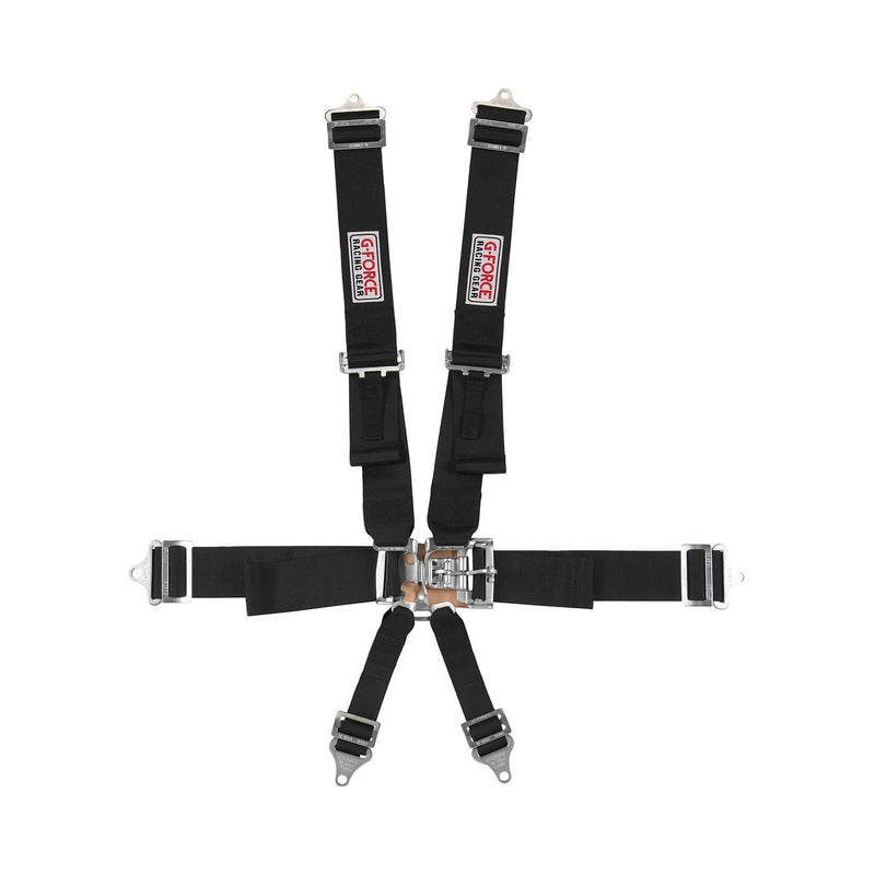 G-Force SFI 6-point L&L Harness - Saferacer