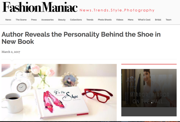 Fashion Maniac - Author Reveals the Personality Behind the Shoe in New Book