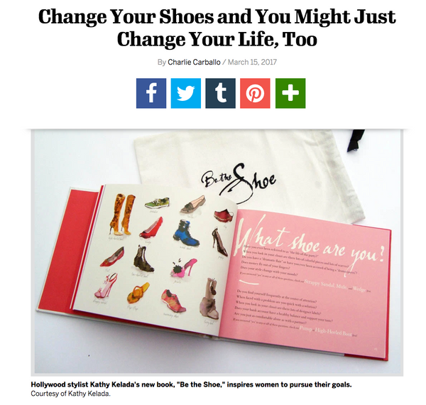 "Footwear News: ""Change Your Shoes and You Might Just Change Your Life, Too"""