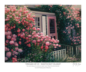 """Dreams of 23 - Nantucket Island"""