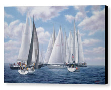 "Load image into Gallery viewer, ""Meeting of the Clan - Figawi Race"""