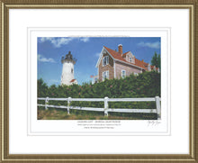 "Load image into Gallery viewer, ""Sailor's Gift - Nobska Lighthouse"""