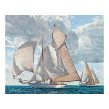 "Load image into Gallery viewer, ""Newport Classic Yacht Regatta"""
