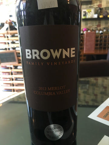 2012 Browne Family Vineyards Merlot