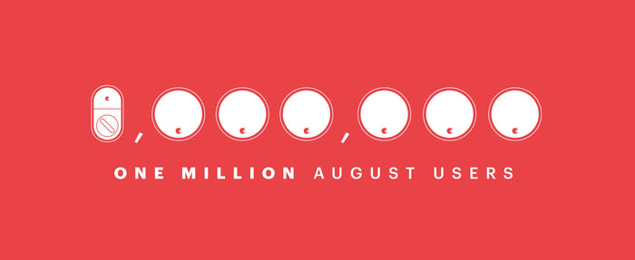 August Celebrates 1 Million User Milestone
