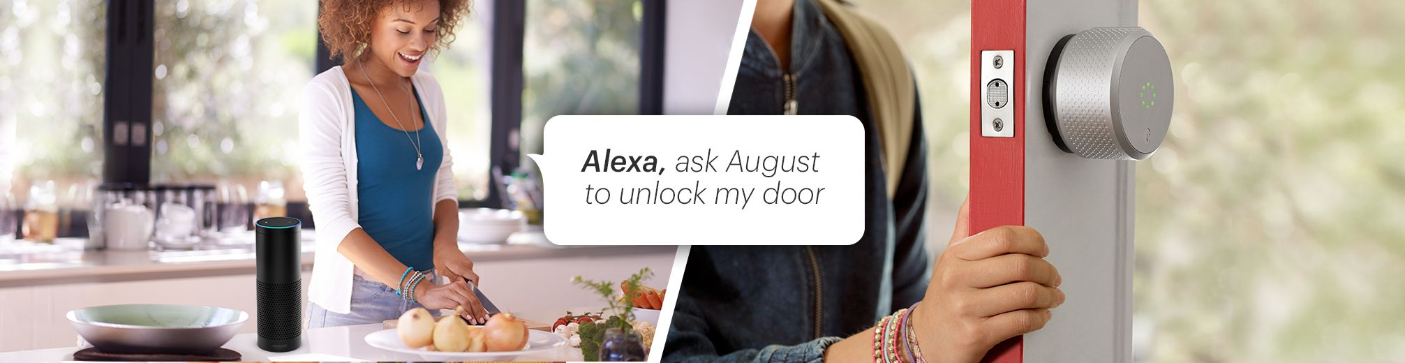 First to Let Amazon Alexa Unlock My Door