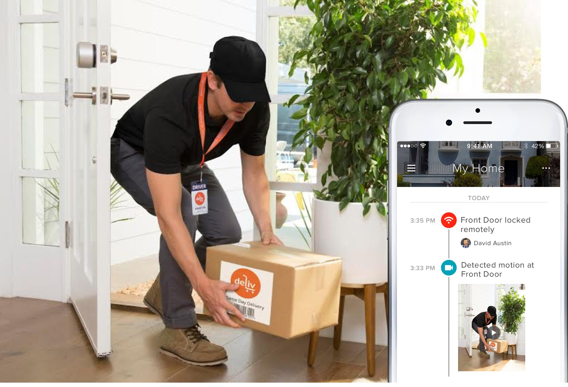 August Access  Open Platform for In-home Delivery