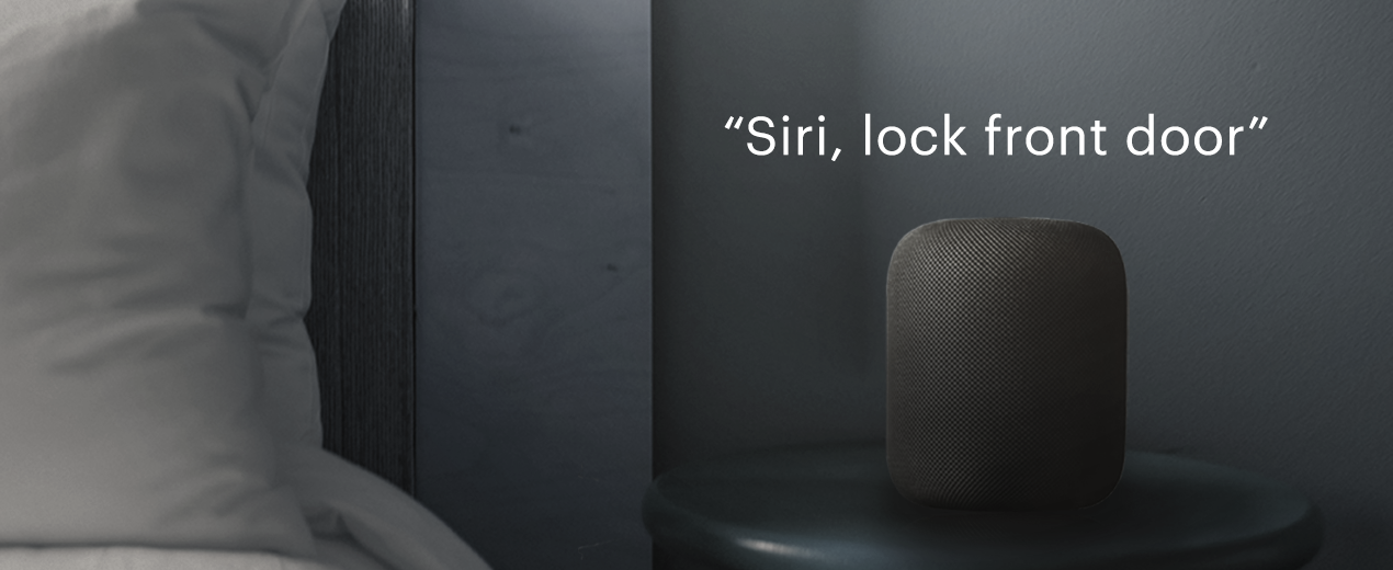 Apple HomePod Works With August Smart Locks