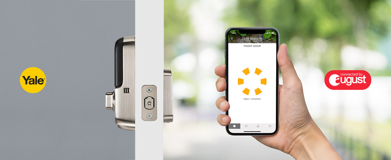 August and Yale Launch Market's Most Advanced Keypad Smart Locks