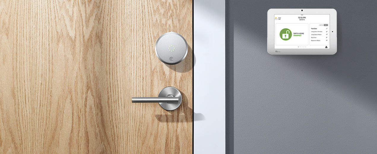 August Partners with Alarm.com to Power Smarter, More Secure Front Doors