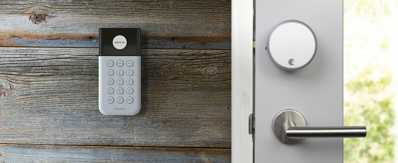 SimpliSafe Integrates the August Smart Lock to Make Your Home More Secure