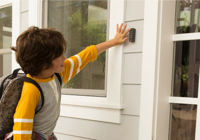 Share keyless entry to your home with your kids and the whole family