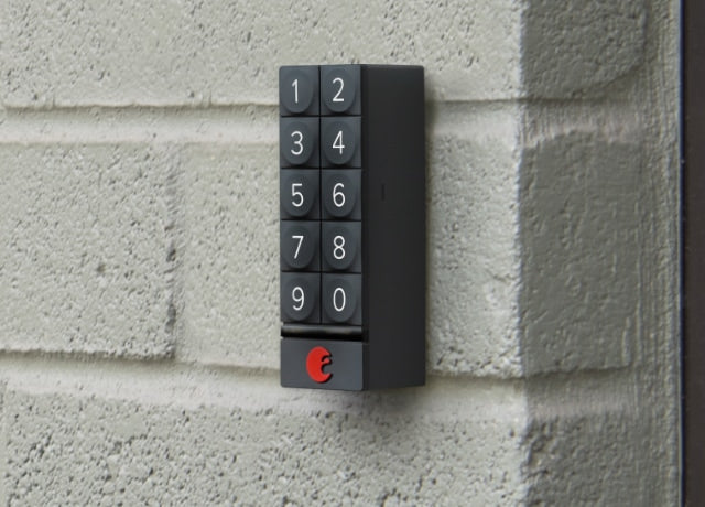 August Smart Keypad installs on multiple surfaces