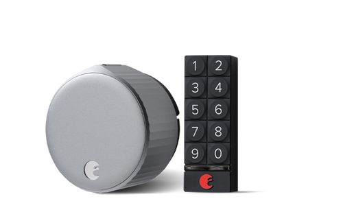 august wi-fi smart lock + keypad