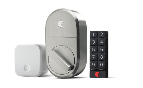 august smart lock + keypad + connect