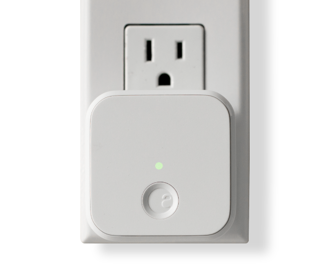 Wi-Fi Bridge Plugged Into Outlet