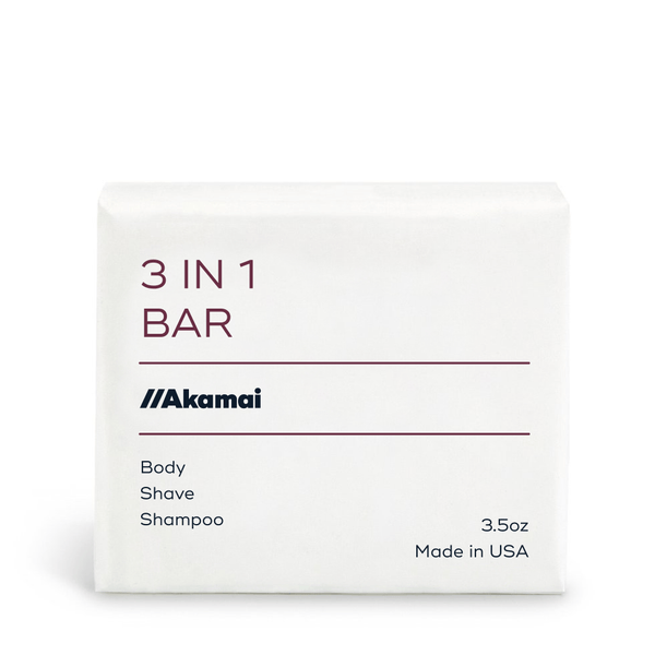 Akamai 3 in 1 BAR Body Care Akamai
