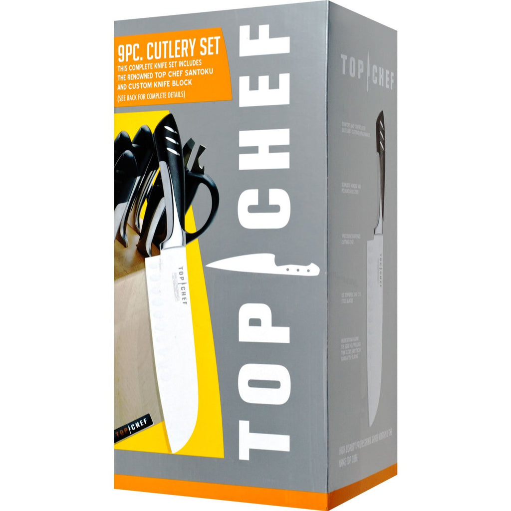 TOP CHEF® 9-Piece Kitchen Knife Set