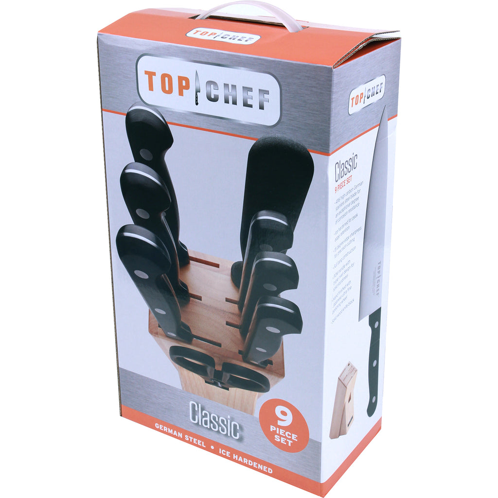 TOP CHEF® Classic 9-Piece Block Set
