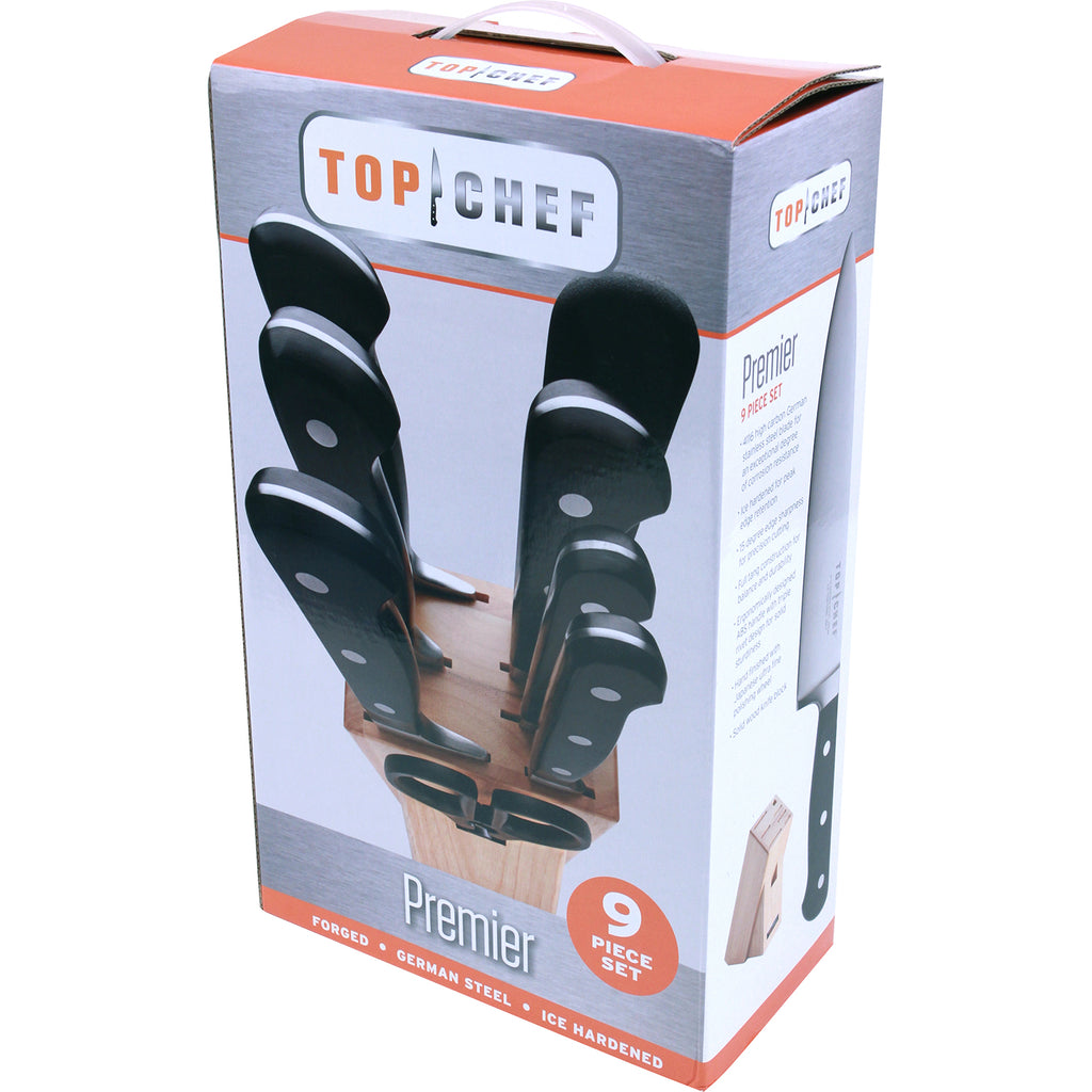 TOP CHEF® Premier 9-Piece Block Set