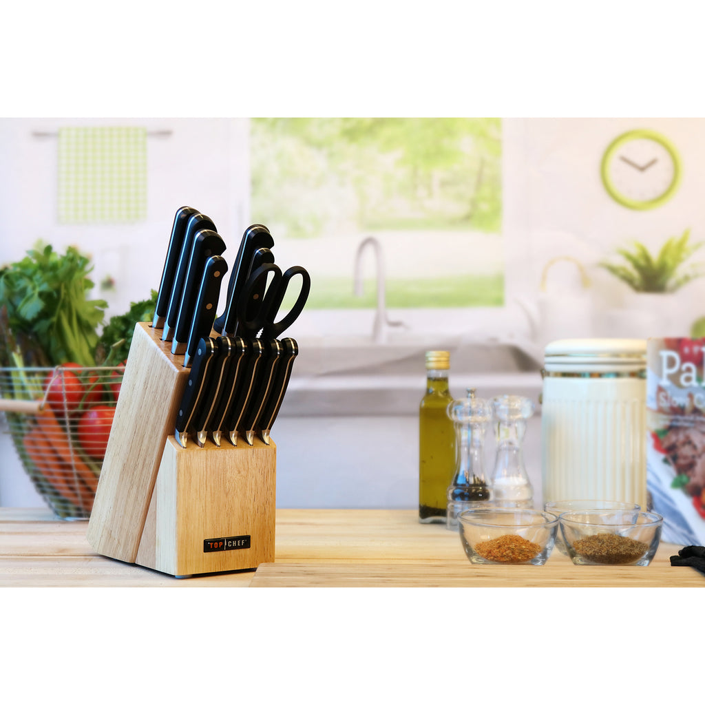 TOP CHEF® Premier 15-Piece Block Set