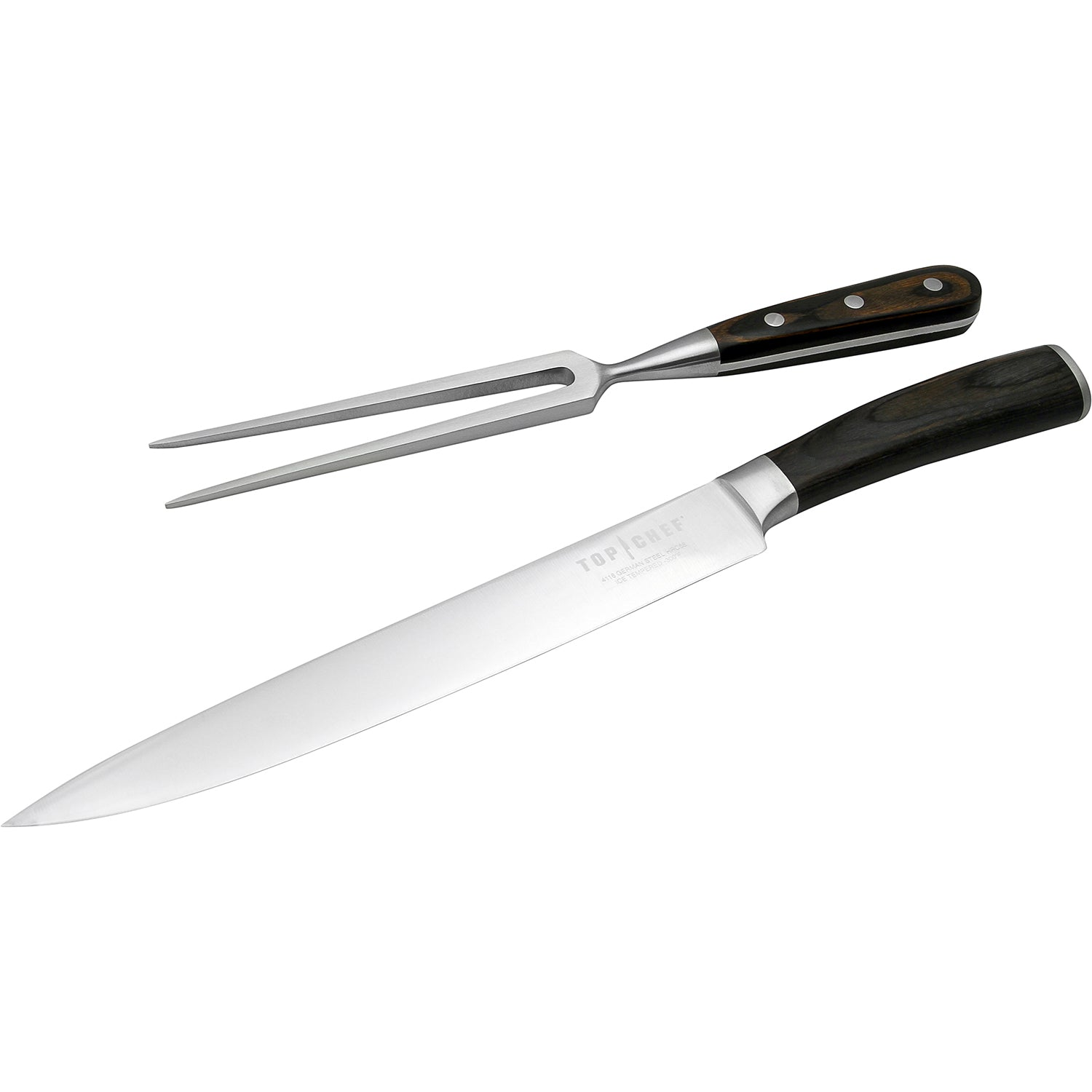 Top Chef 174 Dynasty 2 Piece Carving Set Top Chef Cutlery