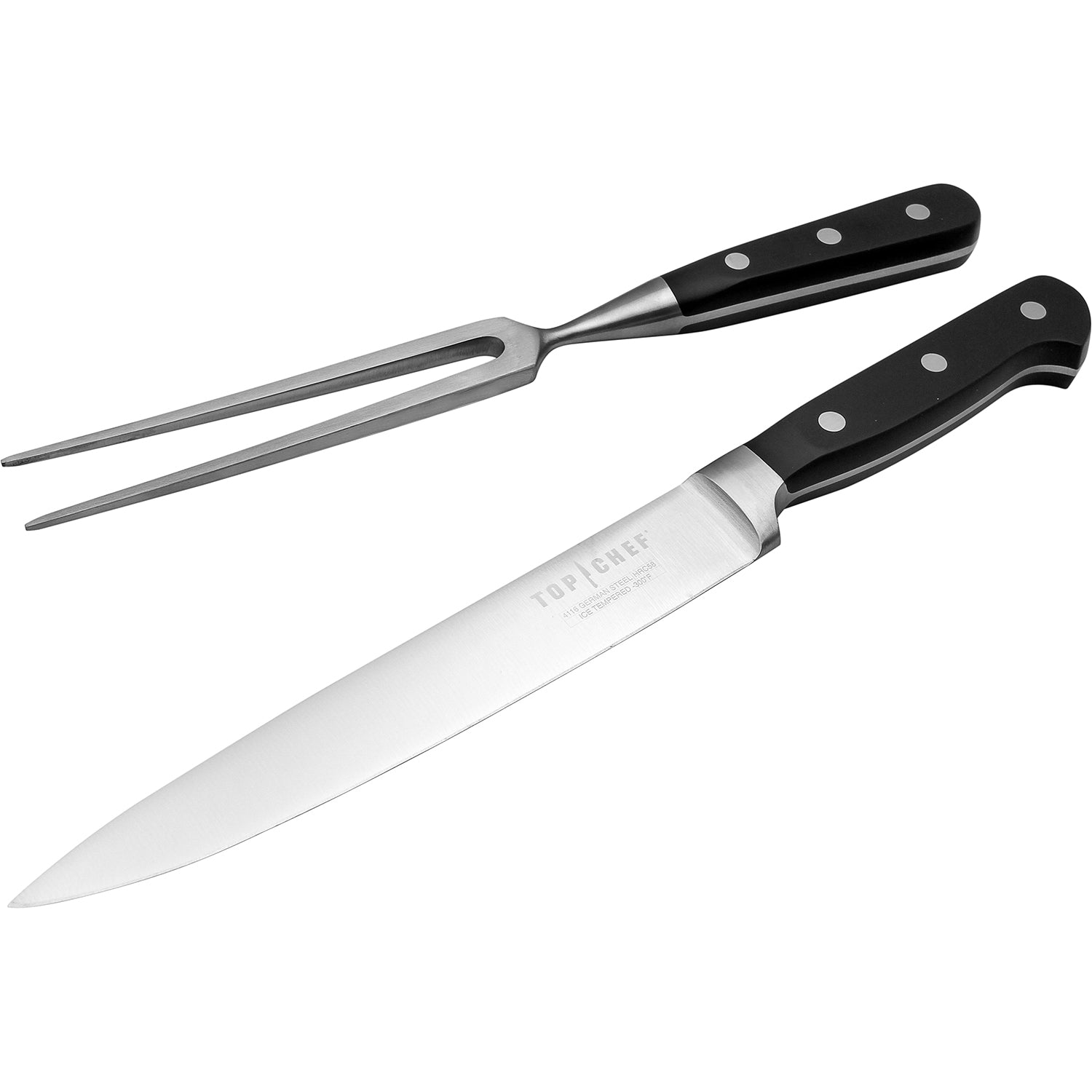 Top Chef 174 Premier 2 Piece Carving Set Top Chef Cutlery